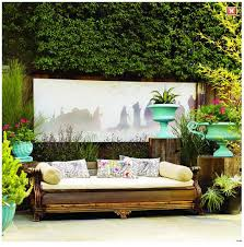 Wooden Outdoor Daybed Furniture - this landscape artist repurposed an antique couch into an outdoor