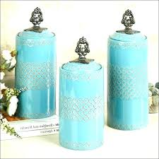 kitchen canisters set teal kitchen canisters teal colored kitchen canisters teal glass