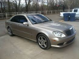 mercedes s500 amg for sale purchase used 2004 mercedes s500 w amg sports package 4