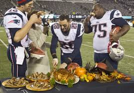 why football and thanksgiving go together like turkey and potatoes