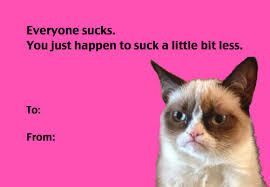 grumpy cat valentines buzzfeed on a s day card from grumpy cat http