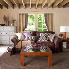 Brown Leather Living Room Decor Country Style Decorating Brown Leather Couch Living Room Living
