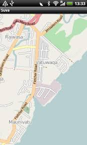 map of suva city suva fiji map android apps on play