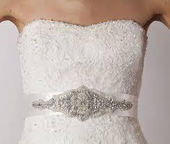 wedding dress belts wedding dress belt by sash co notonthehighstreet