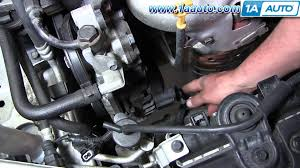 how to install replace alternator 2001 06 hyundai elantra 2 0l