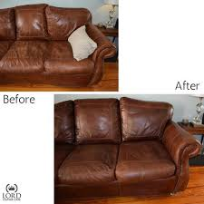 Conditioner For Leather Sofa Before U0026 After Photos Using Lord Leather Conditioner For Best