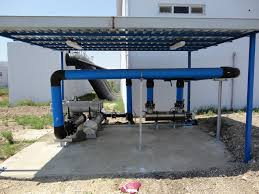 Pvc Pipe Pergola by Orion Industrial Plants Construction Engineering And Ind