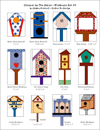 birdhouse quilt pattern debby kratovil quilts paper pieced birdhouses and free pattern
