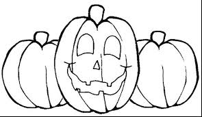 pumpkin coloring pages pdf printable print blank colouring