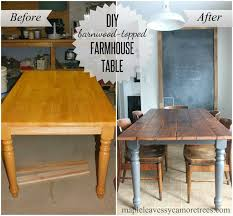 refinish oak kitchen table tip top table dining table makeover diy dining table and kitchens