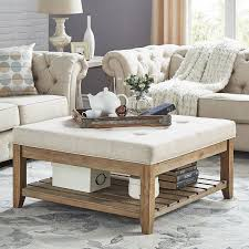 Upholstered Ottoman Coffee Table Upholstered Table Best 25 Upholstered Coffee Tables Ideas On