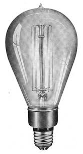 in light bulbs file early tungsten light bulb jpg wikimedia commons