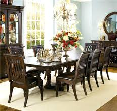 pedestal dining room sets set of 8 dining room chairs double pedestal dining table and 8