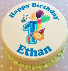 1st Birthday Cake Cake Toppers Birthday Cake Toppers Birthday Themes Jungle