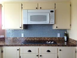 gray glass tile kitchen backsplash smoke glass subway tile modern