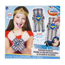 Wonder Woman Accessories Dc Superhero Girls Wonder Woman Accessory Design Kit Dc Girls