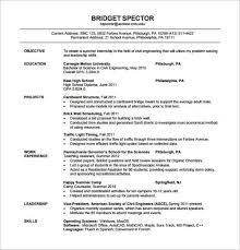bunch ideas of sample resume of civil engineering fresher for your