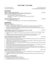 Sample Resume For Bank Jobs For Freshers by Example Resume Education Section Mba Marketing Mba Resume