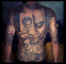 full back tattoos that belong in a museum skull memes