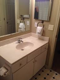 Bathroom Primer Bathroom Makeover On A Budget 20 Wood Look Vinyl Peel And Stick