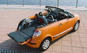 citroen pickup citroën c3 pluriel convertible 2003 2010 photos parkers