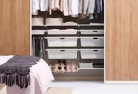 bedroom wardrobes how to keep order elfa inspiration