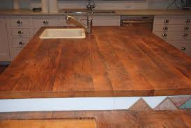 Kitchen Island Made From Reclaimed Wood Reclaimed Wood Countertops Antique Woodworks
