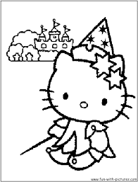 coloring pages of hello kitty princess free coloring pages of