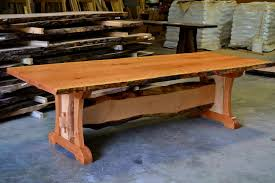 Round Cherry Kitchen Table by Furniture Captivating Hand Crafted Live Edge Cherry Dining Table