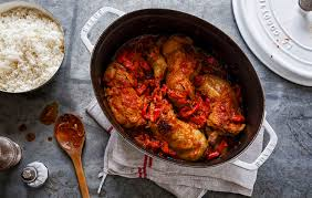 cuisine poulet basquaise simple et bon cuisses de poulet basquaise