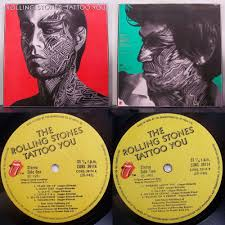 tattoo you by rolling stones lp with progg ref 69831816