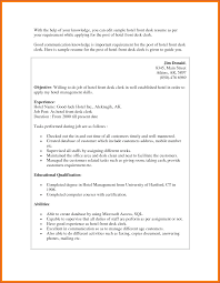 Resume For Receptionist Examples Medical Front Desk Resume Sample Free Resume Example And Writing
