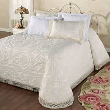 bedroom old fashioned styles of vintage chenille bedspreads
