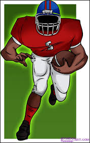 learn how to draw a football player sports pop culture free