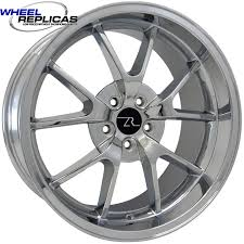 05 mustang wheels chrome 20x10 fr500 replica mustang wheel