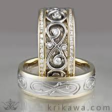 infinity wedding rings infinity symbol rings