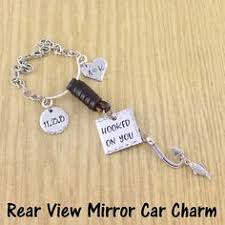 personalized rear view mirror charms pin by camille s casa on husband rear view