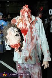 Halloween Costume Headless Man Holding Head Headless Guy Jpg
