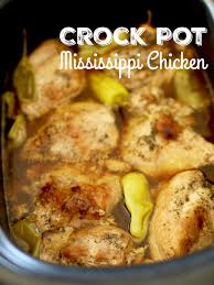 crock pot mississippi chicken the country cook