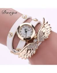 bracelet design watches images 2016 new fashion wing design bracelet watch luxury diamond bangle jpg