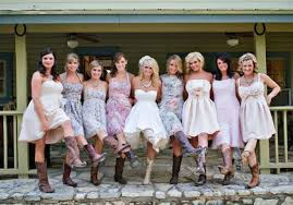 bridesmaid dresses with cowboy boots wedding dresses with cowboy boots pictures ideas guide to