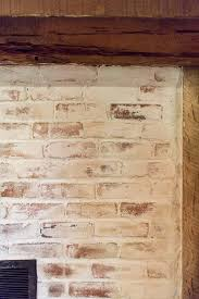 Fireplace Brick Stain by Mortar Wash Brick Fireplace Tutorial U0026 Cottage Flip Update Jenna