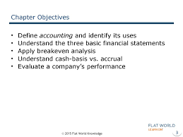 Objective Of Financial Statement Analysis The Role Of Accounting In Business Chapter 12