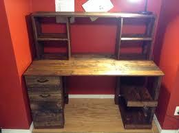Metro Studio Solid Wood Computer Desk In Honey Pine 99042 by Best Wooden Computer Table Design Images Moder Home Design