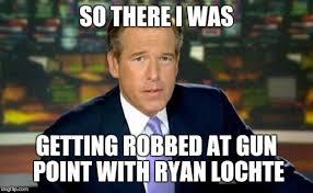 Ryan Memes - 7 best memes of ryan lochte lying about getting robbed sportige