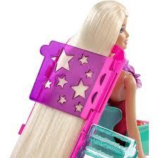 barbie hairtastic colour u0026 design salon dolls accessories