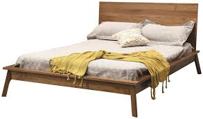 Midcentury Modern Bedding - hastingwood mid century modern bed from dutchcrafters amish furniture