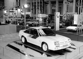 1976 opel manta history of the motor show in pictures