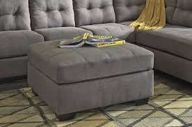 maier charcoal oversized accent ottoman 4520008 ottomans