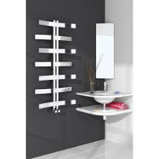 Modern Bathroom Radiators Lioni Modern Polished Stainless Steel Towel Radiator Radiators